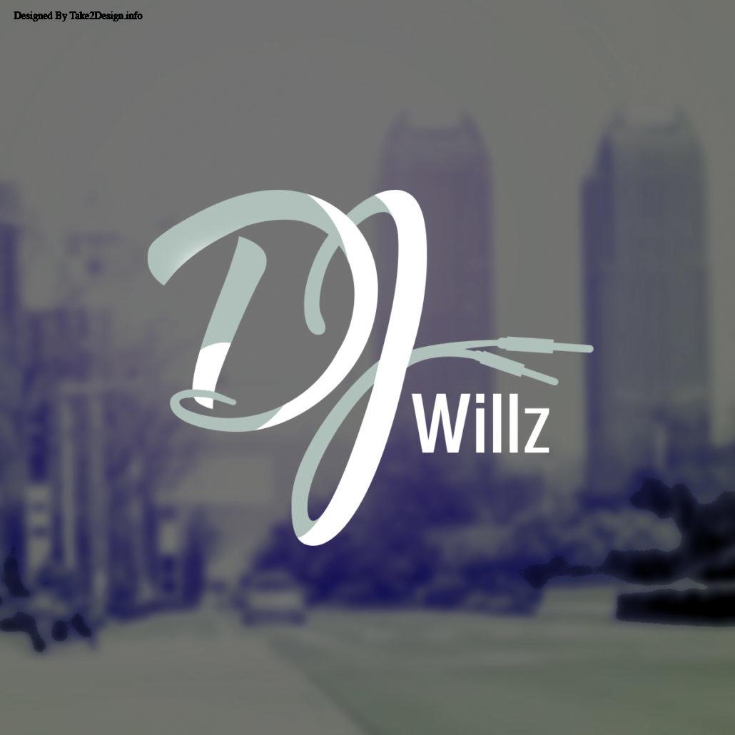 Dj Willz logo Design