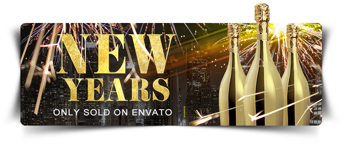 New Year Eve Party Flyer Template - 2